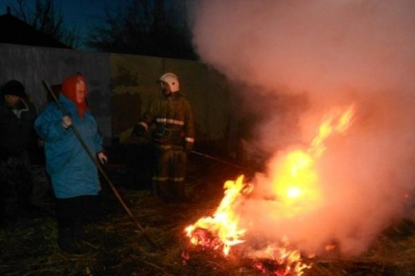Воронежская область готовится к лесным пожарам