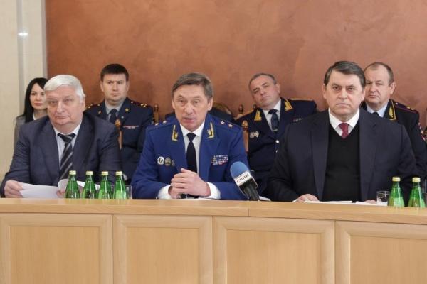 Прокурор Воронежской области получил орден от президента