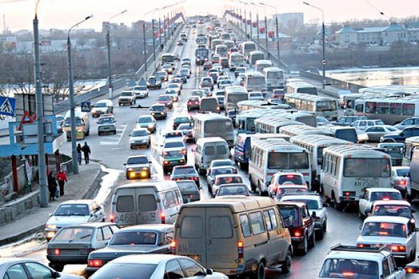 Воронежские депутаты озаботились борьбой с автомобильными пробками