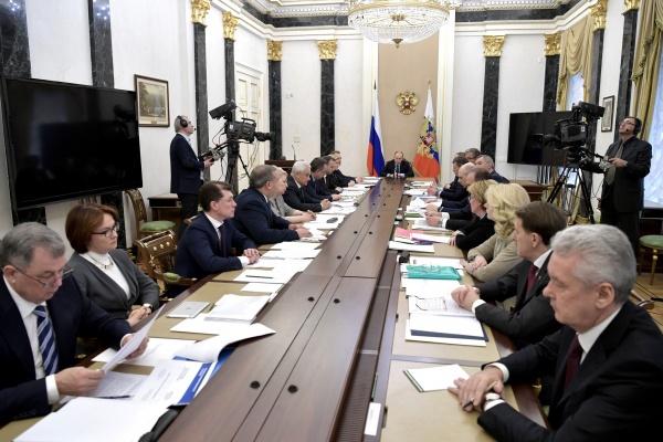 Воронежский губернатор посовещался с президентом страны