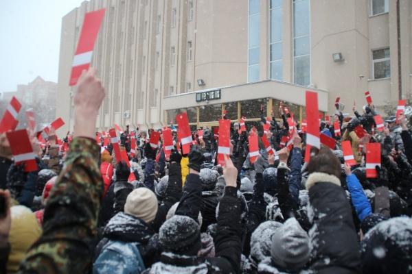 Оппозиционеры сообщили воронежским властям о забастовке избирателей