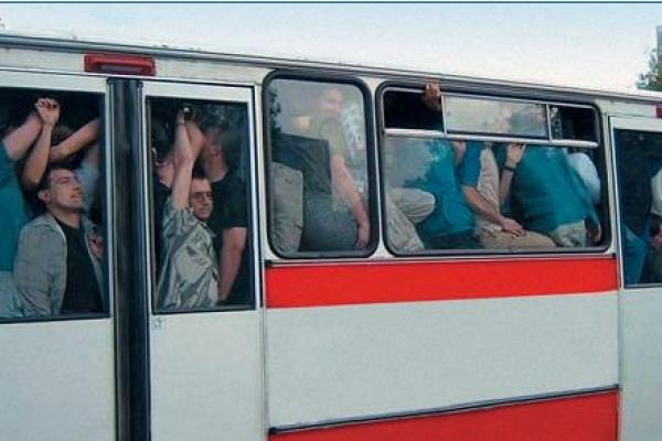 Чем воронежцы занимаются по дороге на работу?