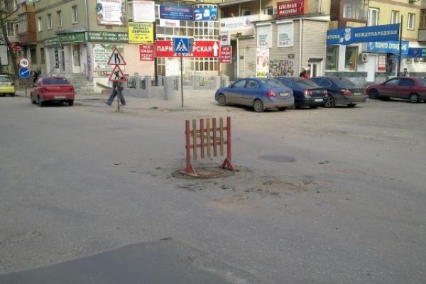 В Воронеже ремонт дорог начнется раньше обычного