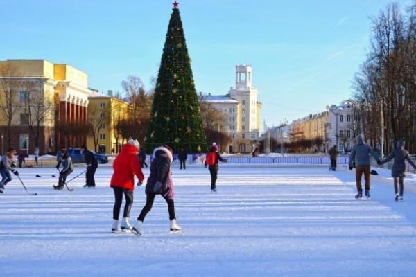 В Воронеже зальют сто катков