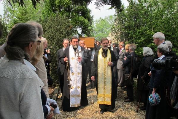 Никиту Струве похоронили рядом с  иконописцем из Воронежа