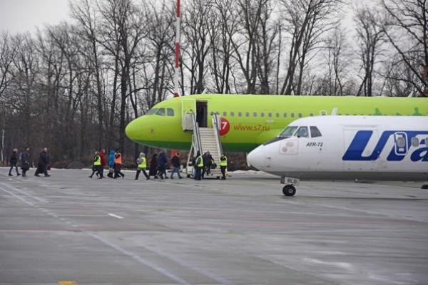 В Воронежской области существенно растут объемы авиаперевозок пассажиров