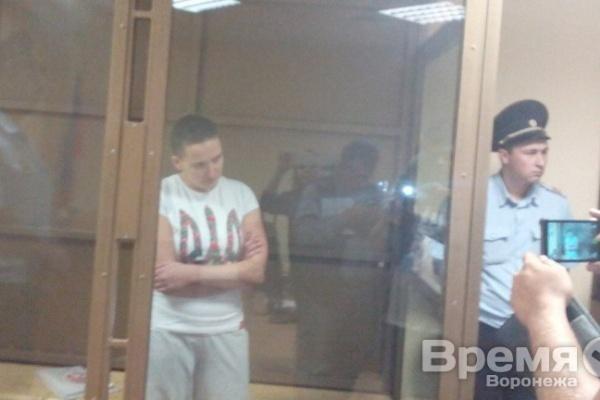 На 22 года отравится в тюрьм задержанная под Воронежем Надежда Савченко