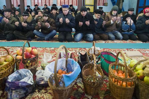 Воронежские  мусульмане  начали праздновать Курбан-байрам