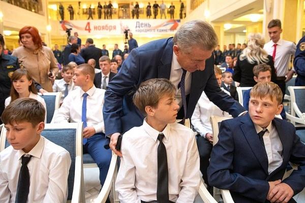 В Совете Федерации наградили юного воронежца за спасение тонущего земляка
