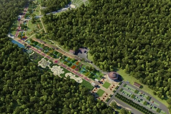 В Воронеже впервые земли застройки отдали под скверы