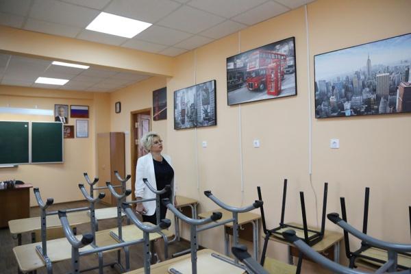 Воронежские школы отремонтировали за 100 млн рублей