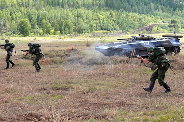 Под Воронежем российская армия применила сирийский опыт