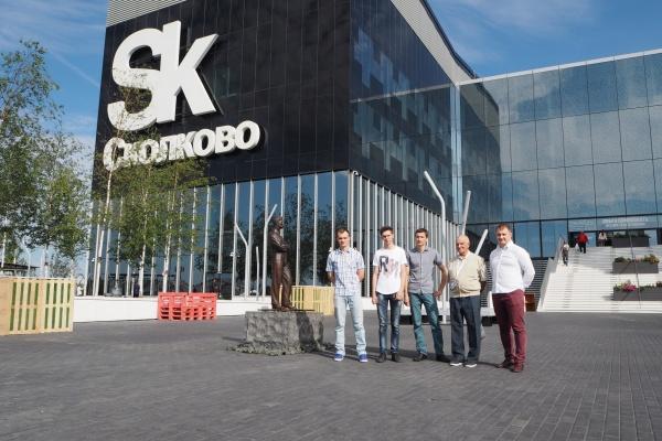 Победители воронежского конкурса «Правила роста» посетили «Сколково»