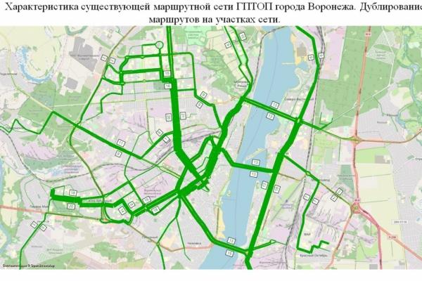 «Росдорнии» представило мэру проект маршрутной сети Воронежа