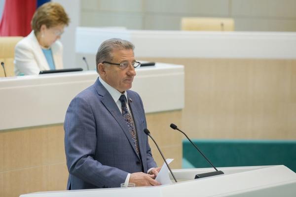 Воронежский сенатор Сергей Лукин подвёл итоги работы в Совете Федерации