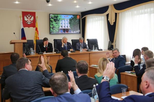 Совет воронежской гордумы утвердил повестку дня летней сессии