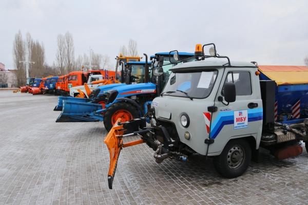 Воронеж планирует закупить 119 спецмашин