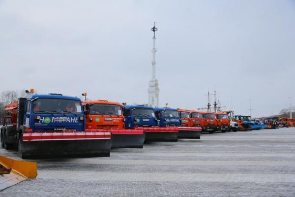 Власти Воронежа направили 148,5 млн рублей на покупку коммунальной техники