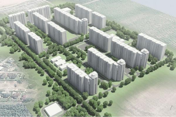 Воронежцы раскритиковали проект строящегося жилкомплекса «Спутник»