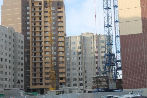 Объем ввода жилья в Воронеже упал в три раза