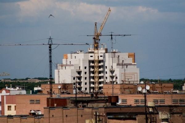 Воронежские строители работают все меньше
