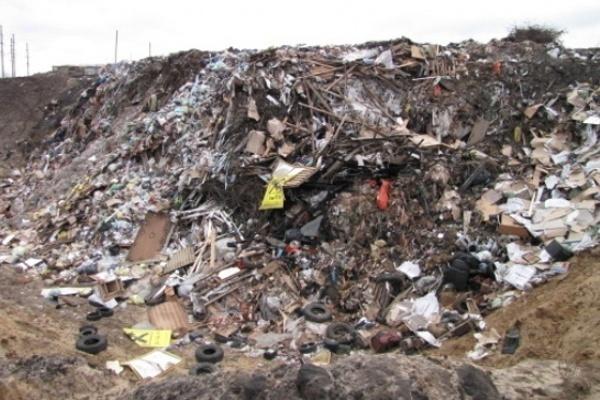 Владелец незаконной свалки под Воронежем в очередной раз нанёс вред экологии