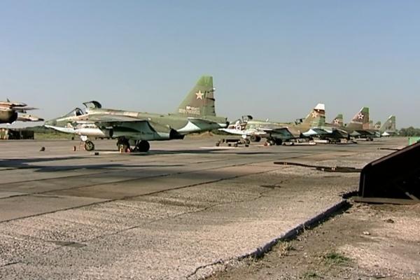Боевые самолеты из Сирии приземлились под Воронежем