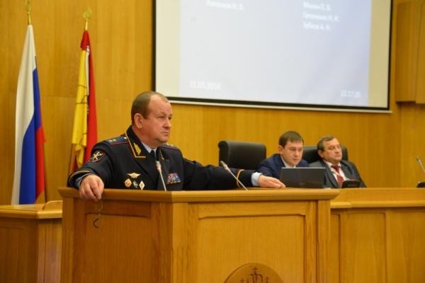Александр Сысоев останется начальником воронежской полиции ещё на год