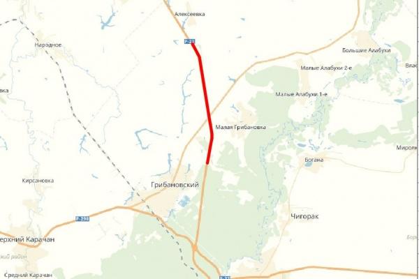 В Воронежской области участок Р-22 «Каспий» отремонтируют за 739 млн рублей
