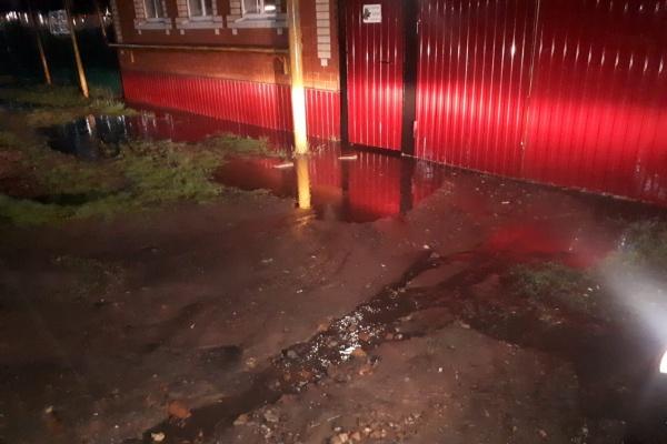 Стихийное благоустройство стало причиной подтопления домов в Воронежской области