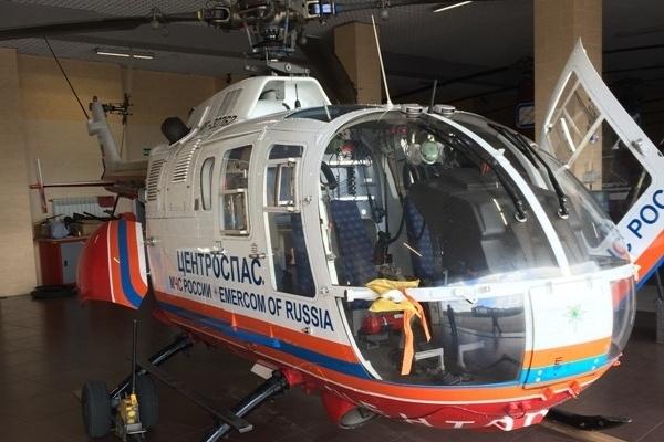 Воронежские врачи получили резервный вертолет
