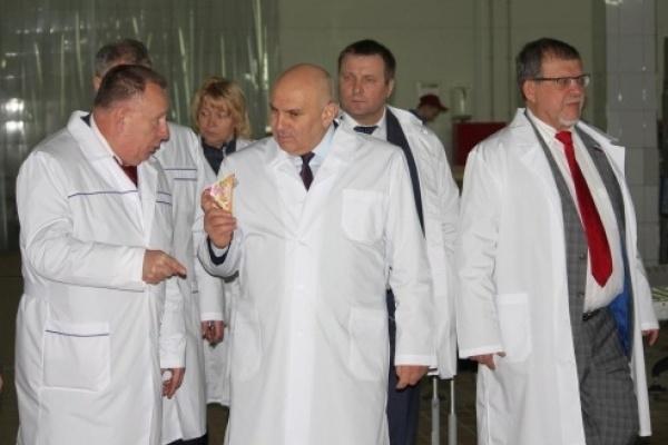 Воронежский «Молвест» впечатлил замминистра сельского хозяйства