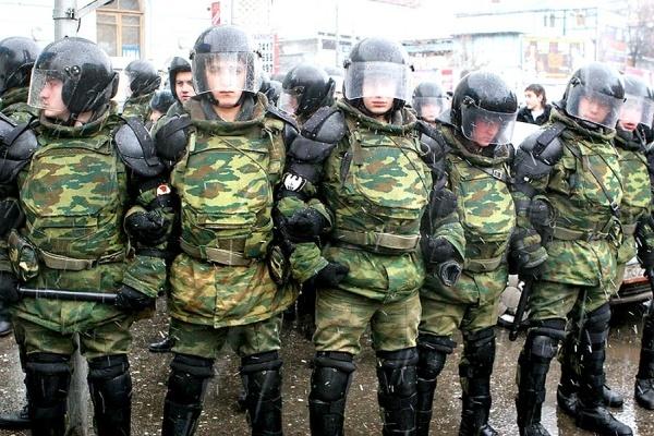 В Воронеже Нацгвардию создают тайно, но «без напряжения»