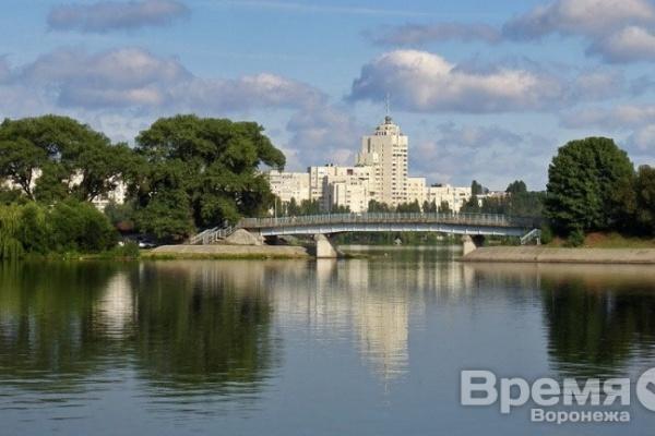В Воронеже расчищают водохранилище