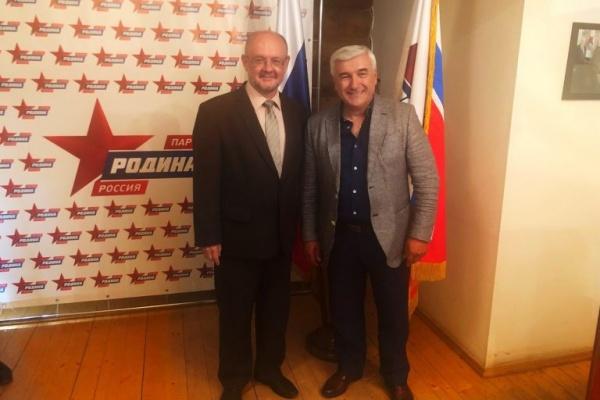 Кандидатом вворонежские губернаторы от«Родины» стал «исследователь консерватизма» Аркадий Минаков