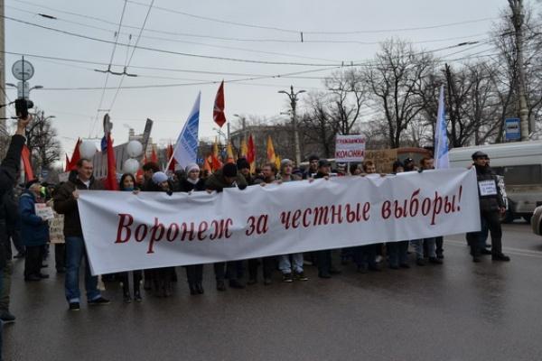 В Воронеже собраны подписи за возвращение всенародных выборов мэра