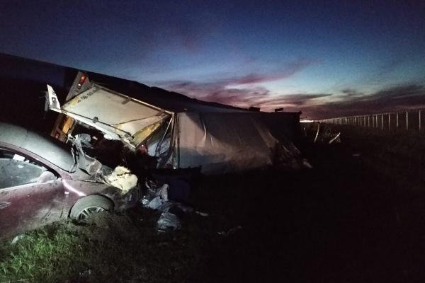 Полицейские возбудили дело по факту смертельного ДТП на М-4 «Дон» под Воронежем