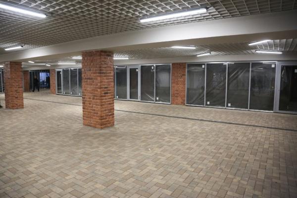 В Воронеже продолжается реконструкция второй очереди подземного перехода у цирка