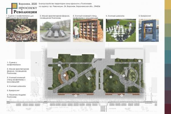 На обновление проспекта Революции в Воронеже потребуется два года