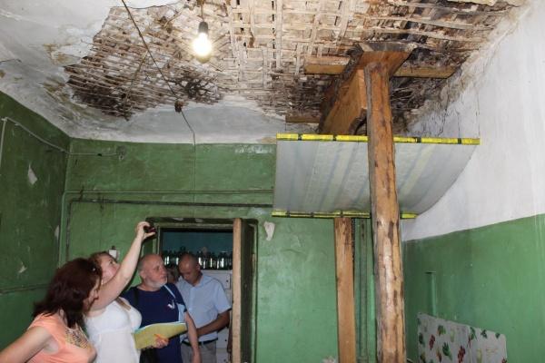 В Воронеже разрушающийся дом не попал под расселение
