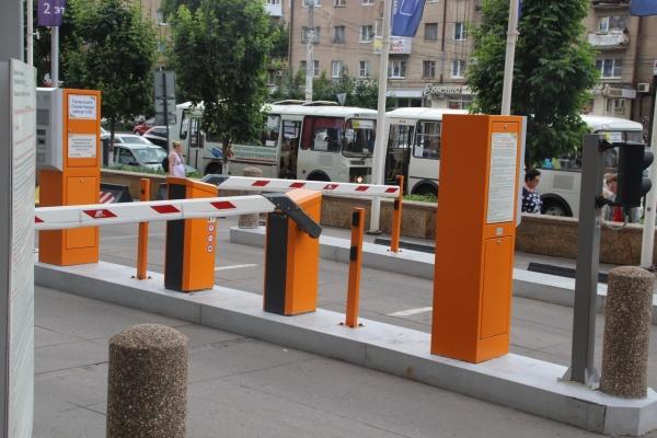 Платные парковки в центре Воронежа откроются 2018 году