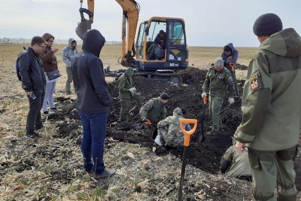 Воронежские поисковики ведут раскопки в местах будущей стройки «Агроэко»