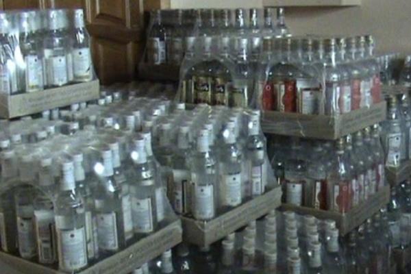 В Воронеже работал подпольный завод по производству алкоголя