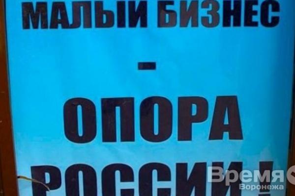 Воронежских предпринимателей власть поддерживает выборочно