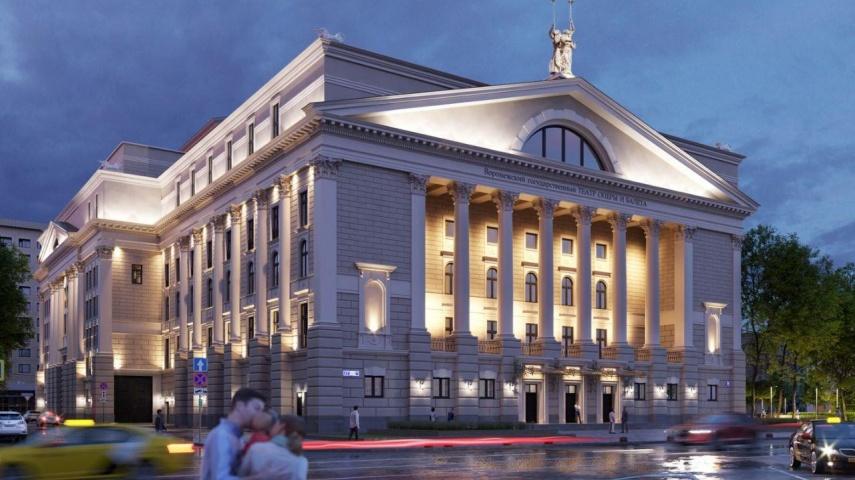 В Воронеже представили проект обновления театра оперы и балета