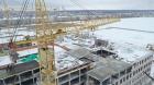 В Новой Усмани под Воронежем продолжается стройка школы на 1,1 тыс. мест