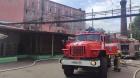 В Воронеже ликвидируют пожар на хлебзаводе в центре города