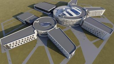 В Воронеже представили проект школы за 3 млрд рублей