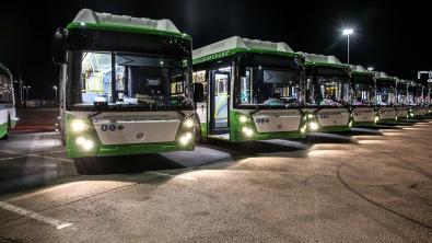 Воронеж получил еще 29 новых автобусов