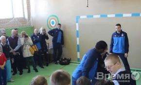 Воронежский мини-футбольный клуб посетили спортсмены из МФК «Динамо»